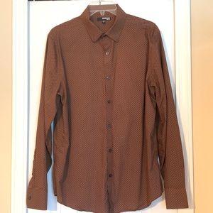 ✔️Murano slim fit long sleeves polo shirt - L
